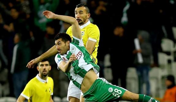 Konya'da gol var kazanan yok