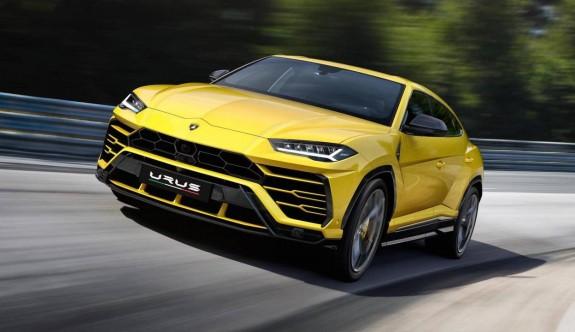 Lamborghini'nin süper SUV'u Urus