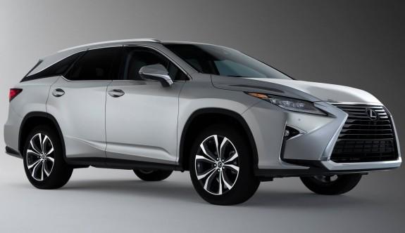 Lexus'un daha uzun SUV'u RX L
