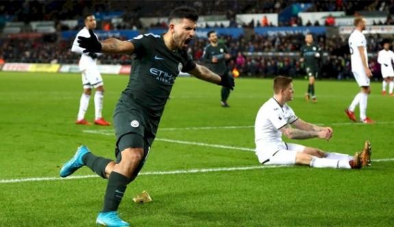 Manchester City rekora doymuyor