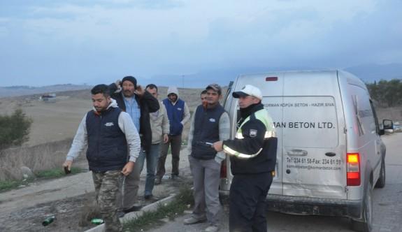 Polisten ülke çapında trafik ve asayiş operasyonu