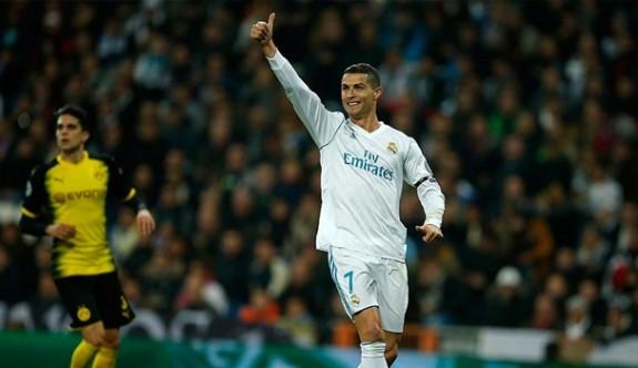 Ronaldo'dan bir ilk daha