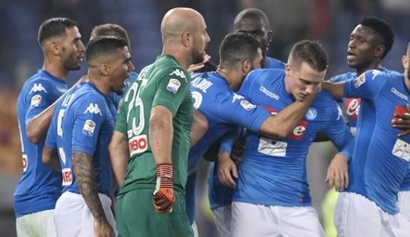 Serie A'da ilk yarının lideri Napoli