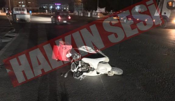 Son dakika: Fuar kavşağında kaza: 1 ağır yaralı