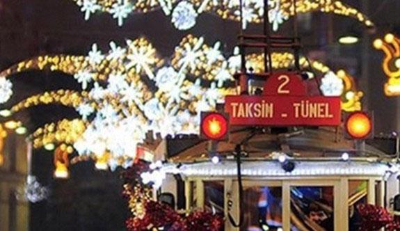 Taksim'de yılbaşı kutlaması yapılmayacak
