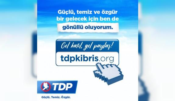 TDP seçim çalışmalarına dijital alanda uygulama başlattı