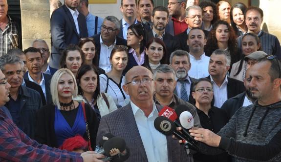 TDP ve UBP adayları da başvurusunu yaptı