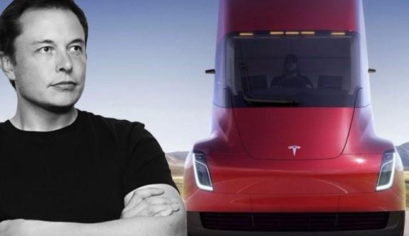 Tesla'nın CEO'su Musk'tan elektrikli pikap açıklaması