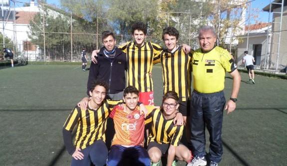 TMK halı saha futbol turnuvası başladı