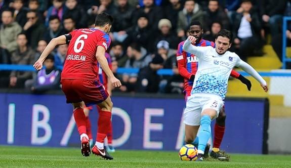 Trabzonspor, Karabük'te tekledi