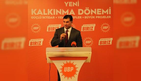 UBP'nin önceliği ekonomi