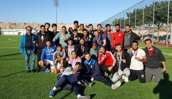 Üniversiteler futbolun şampiyonu GAÜ
