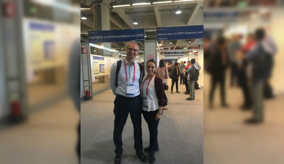 YDÜ Milano'da Akciğer Hastalıkları Kongresi'ndeydi