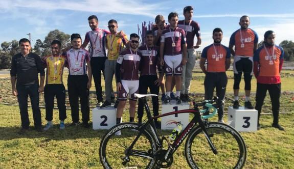 YDÜ'den bisiklette çifte birincilik