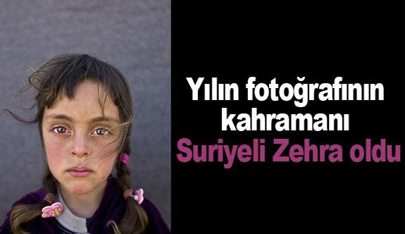 Yılın fotoğrafının kahramanı Suriyeli Zehra