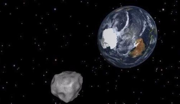 108 bin km hızla dünyaya yaklaşıyor