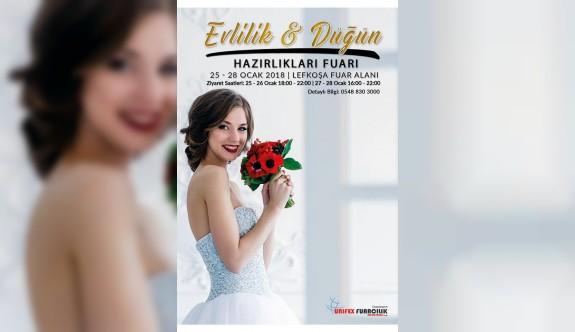 8. Evlilik ve düğün hazırlıkarı fuarı yarın başlıyor