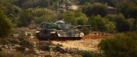 Afrin'e kara harekatı başladı (Zeytin Dalı Harekatı'nda ikinci gün)