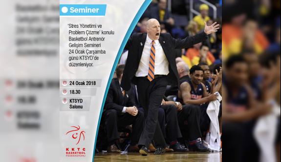 Basketbol Federasyonu seminer düzenleyecek