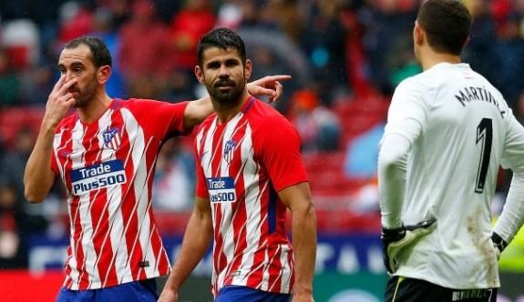 Costa golünü attı, sonra oyundan atıldı