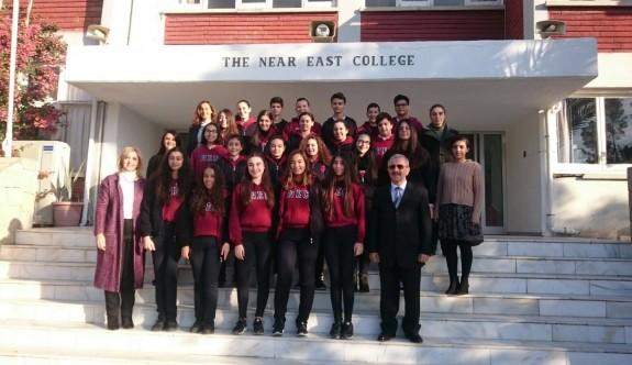 DELF Sınavında başarı elde eden öğrenciler belgelerini aldı