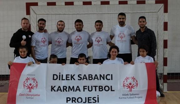 Dilek Sabancı Karma Futbol Projesi için buluştular