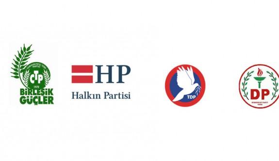 Dörtlü koalisyon için parti başkanları düzeyinde görüşme