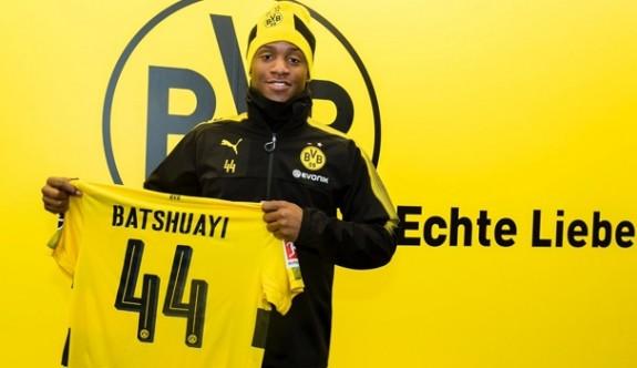 Dortmund'a Belçikalı forvet