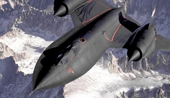 """En hızlı casus uçak """"Kara Kuş"""" geri döndü"""