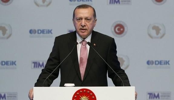Erdoğan'dan Afrika gazetesine sert tepki
