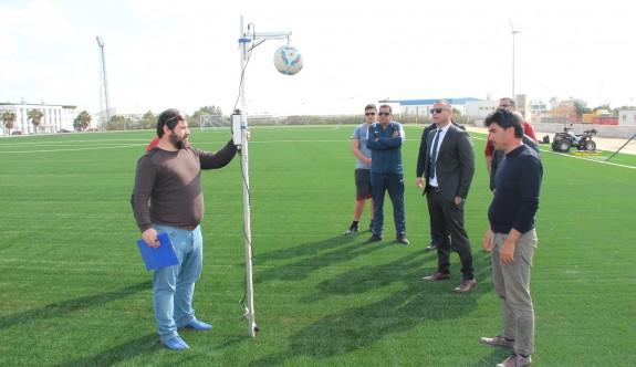 FIFA uzmanları, Göçmenköy Stadı'nda
