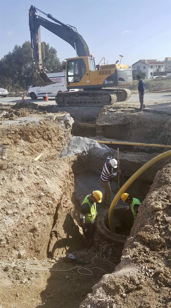 Gönyeli-Lefkoşa hududunda yaşanan atık su problemi aşıldı