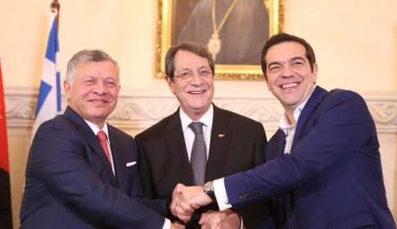 Güney Kıbrıs-Yunanistan ve Ürdün arasında işbirliği anlaşması