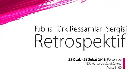 I. ve II. kuşak Türk ressamların sergisi 25 Ocakta YDÜ'de
