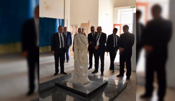 İskele Arkeoloji Müzesi iki ay içinde hizmete açılacak