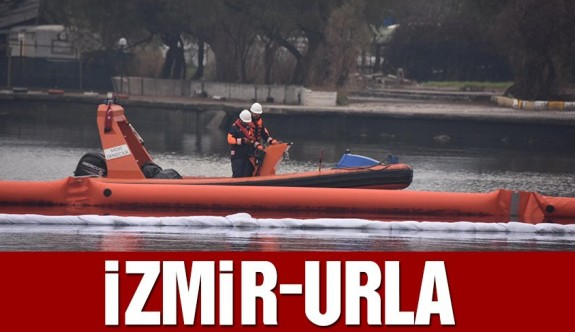 İzmir Urla'da mazot sızıntısı