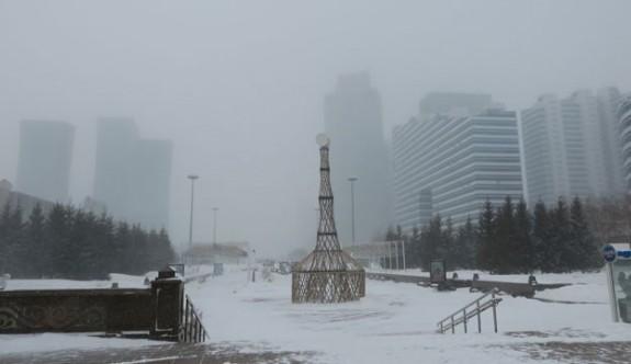 Kazakistan'da kutup soğukları alarmı