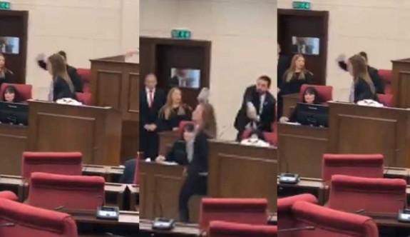 Meclis'in ilk toplantısı olaylı
