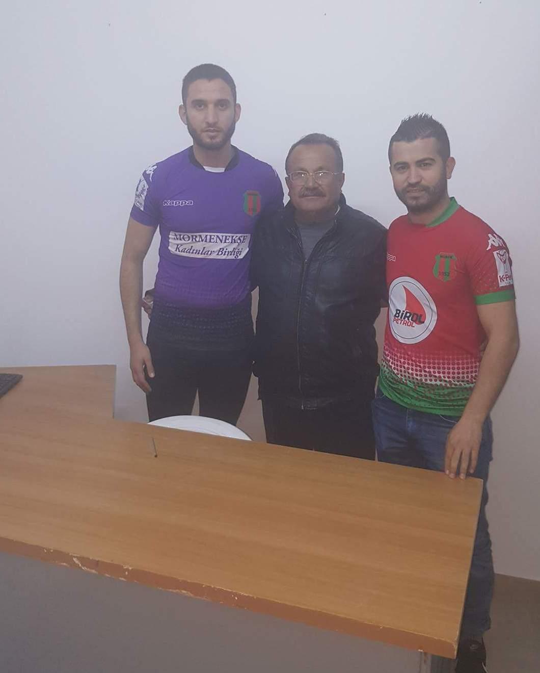 Mormenekşe'de Rıdvan ve Sami imzaladı