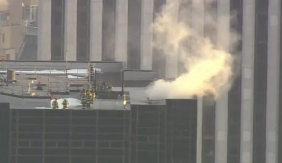 New York'taki Trump Tower'da yangın çıktı: 2 yaralı