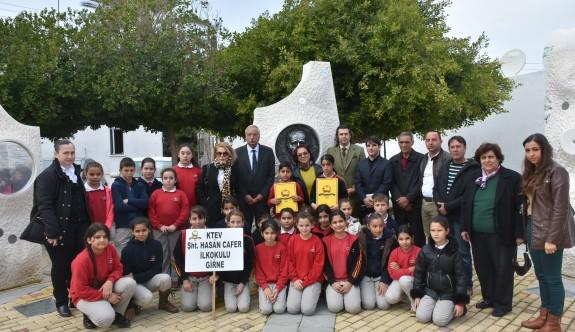 Osman Türkay Anıtı önünde anıldı