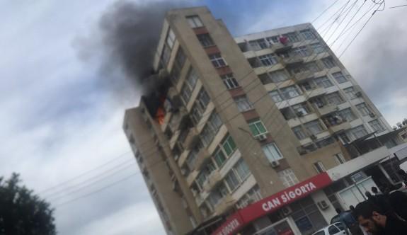 SON DAKİKA: Gönyeli'de yangın