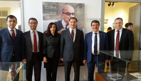 Türkiye Ombudsmanı Malkoç, Dr.Fazıl Küçük Müzesi'ni ziyaret etti