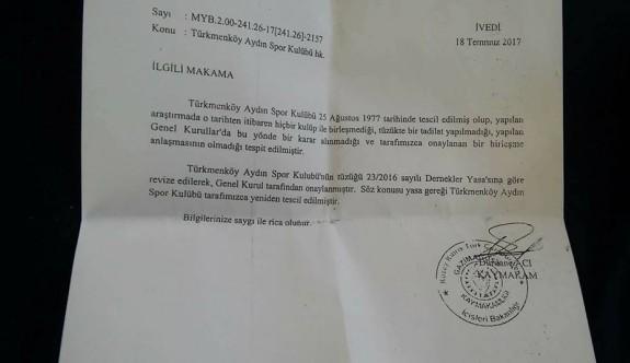 Türkmenköy'ün davası YİM'de görüşülecek