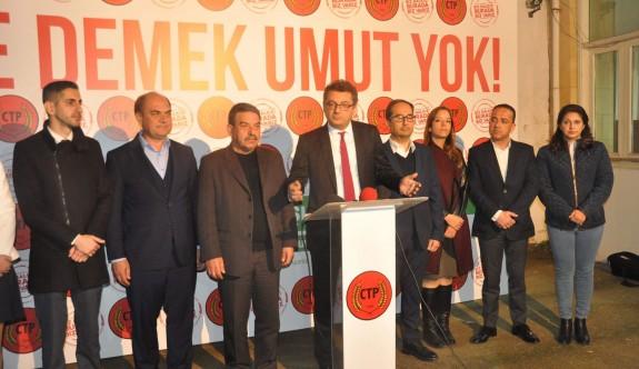 """""""UBP ile koalisyona parti meclisinin onay vereceğini düşünmüyorum"""""""