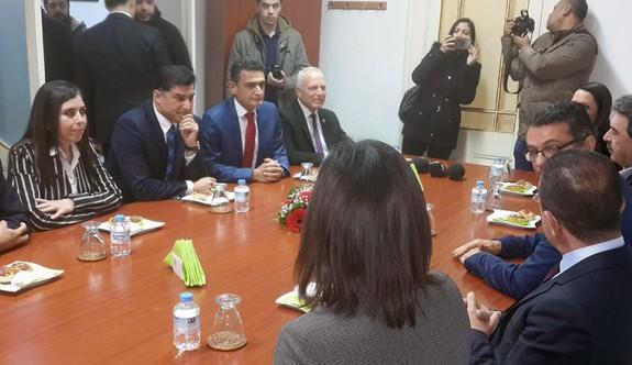 UBP'li yetkililerden CTP'ye ziyaret