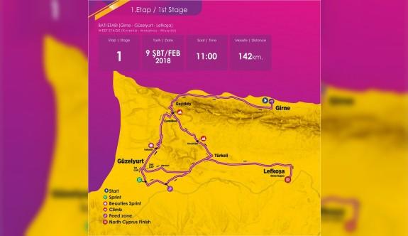 3'üncü Uluslararası Bisiklet Turu'nun etapları belli oldu