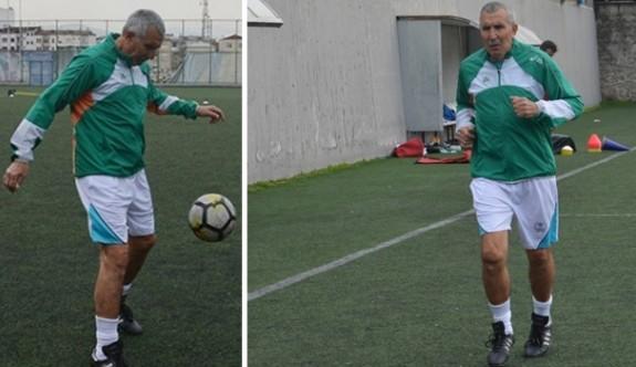 69 yaşında transfer oldu