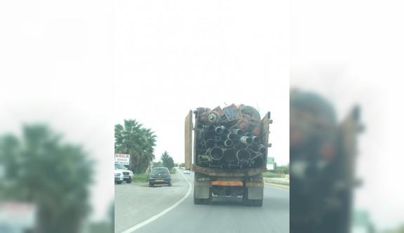 Ağır vasıta sürücüleri yol güvenliğini düşünmüyor