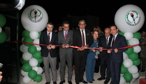 Akdoğan Belediyesi Açık Hava Spor Merkezi hizmette